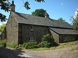 Listed buildings in Horwich - Image: Wilderswood Manor House