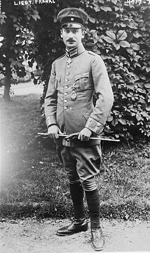 Wilhelm Frankl - Frankl in 1916