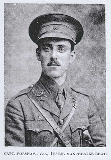William Forshaw Recipient of the Victoria Cross