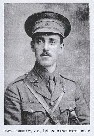 William Forshaw - Image: William Thomas Forshaw VC