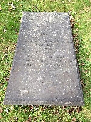 William Bowie (merchant) - William Bowie, Old Burying Ground (Halifax, Nova Scotia)
