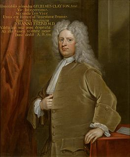 William Clayton, 1st Baron Sundon Member of the Parliament of Great Britain