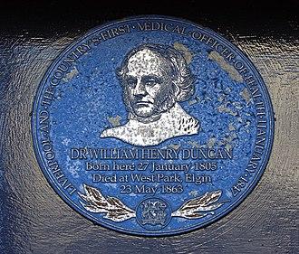 William Henry Duncan - Image: William Duncan plaque, the Blue Angel