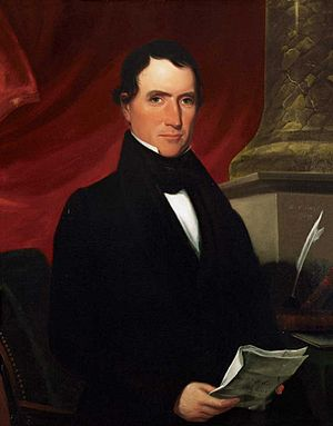 William R. King - Portrait of King, painted by George Cooke in 1839