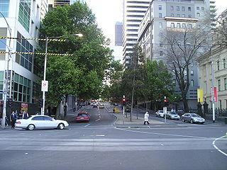 street in Melbourne, Victoria