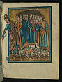 William de Brailes - The Crossing of the Red Sea (Exodus 14 -26-30) - Walters W10610R - Full Page.jpg