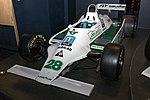 Williams FW07 front-left 2017 Williams Conference Centre.jpg