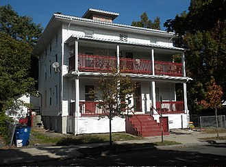Winchester Repeating Arms Company Historic District - Image: Winchester 1