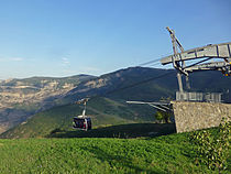 Wings of Tatev Aerial Tramway-Station du monastère (2).jpg