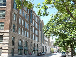 Winnipeg Free Press - Historic Free Press building on Carlton