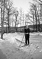 Winter, skiing Fortepan 74899.jpg