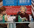 Wisława Szymborska čte - Svět knihy 2010 (001).JPG