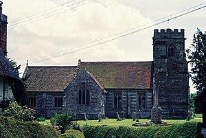 Witchampton - Image: Witchampton, parish church of St. Mary and St. Cuthburga geograph.org.uk 474186