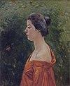 Woman in Red Clothing by Kuroda Seiki.jpg