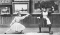 Women fencers - thrust in carte.png