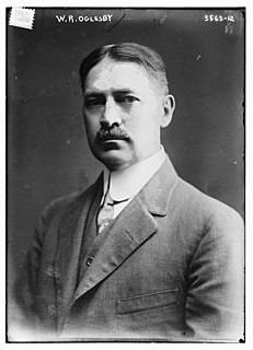 Woodson R. Oglesby American politician