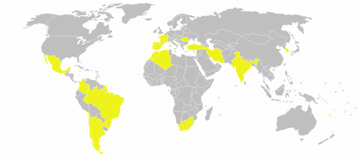 Global locations of Renault factories