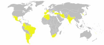 Global locations of Renault factories