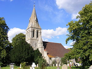 St Andrew's Church in Wraysbury