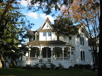 Excelsior, Minnesota - The Wyer House, residence of Excelsior Amusement Park managers