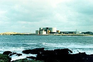 English: Wylfa Nuclear Power Station, Anglesey...
