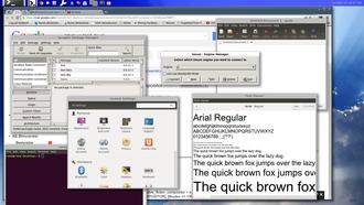 Wayland (display server protocol) - A screenshot showing xwayland