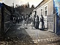 Yard, harvest, folk costume Fortepan 100982.jpg