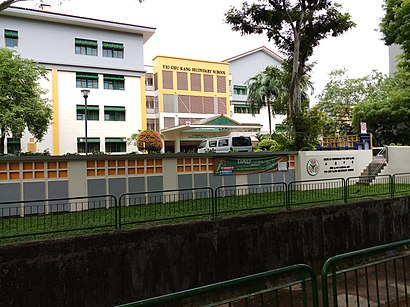 How to get to Chong Boon Secondary School with public transport- About the place