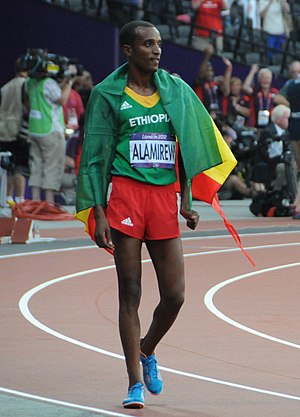 Yenew Alamirew - Yenew Alamirew at the 2012 Olympics