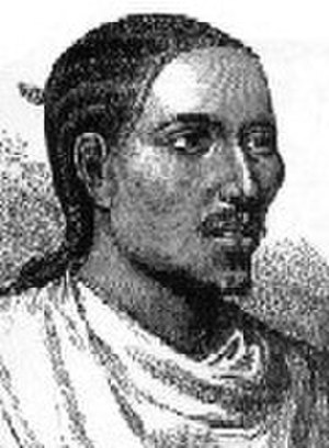 Enderta Province - A European sketch of Yohannes IV