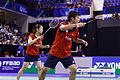 Yonex IFB 2013 - Quarterfinal - TSudket Prapakamol - Saralee Thungthongkam vs Kenichi Hayakawa - Misaki Matsutomo 20.jpg