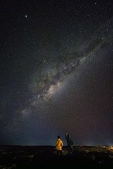 Milky Way over Coober Pedy