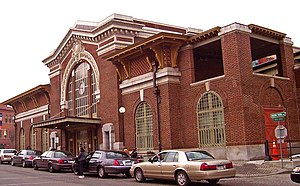 Yonkers station - Image: Yonkers train station front