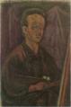 YorozuTetsugorō-1915-Self-Portrait Painting a Picture.png