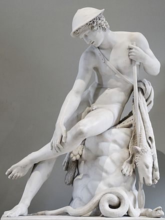 Louis Petitot - Young Hunter Wounded by a Snake, Louvre Museum
