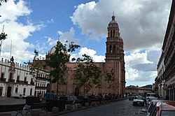 Zacatecas Plaza Mayor Catedral.jpg
