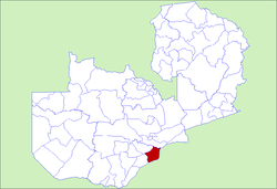 Zambia Siavonga District.png