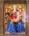 Zanobi strozzi, madonna col bambino, quattro angeli e il redentore, 1450 ca. 02.JPG