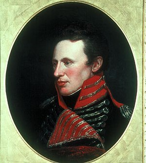 Zebulon Pike - Zebulon Pike by Charles Willson Peale, 1808
