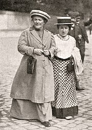 Clara Zetkin and Rosa Luxemburg, 1910