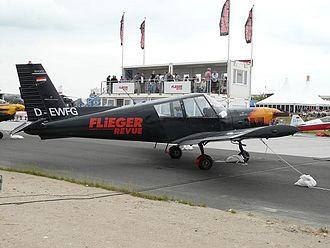 Zlín Z 43 - Zlín Z-43 (D-EWFG) at Berlin Schönefeld Airport.