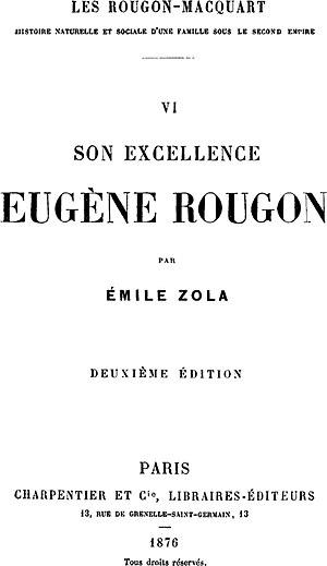 Son Excellence Eugène Rougon cover