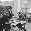 Zone-schaaktoernooi te Berg en Dal, Barendregt tegen Duckstein, Bestanddeelnr 911-8330.jpg