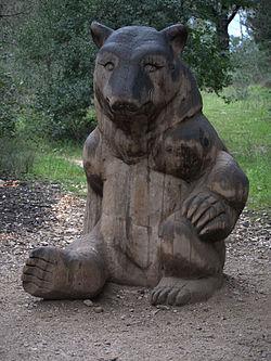 Zoo de Lunaret - Statue ours - P1600341.jpg