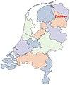 Zuidlaren on the map of the Netherlands-2.jpg