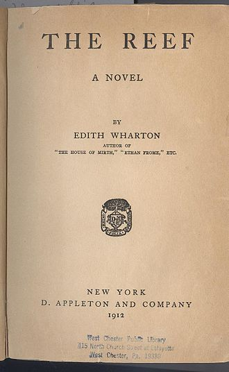 The Reef (novel) - 1912 first edition title page