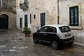 """ 11 - ITALY - Lancia Ypsilon bicolor white and black hatchback.jpg"