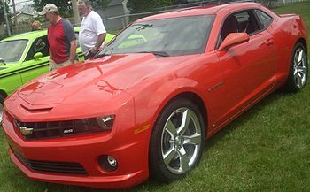 2010 Chevrolet Camaro photographed in St. Laza...