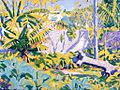 'Outside the Grounds, Bermuda' by Edwin Ambrose Webster.jpg