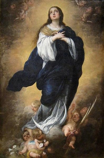 Murillo, Immacolata Concezione di Maria dans immagini sacre